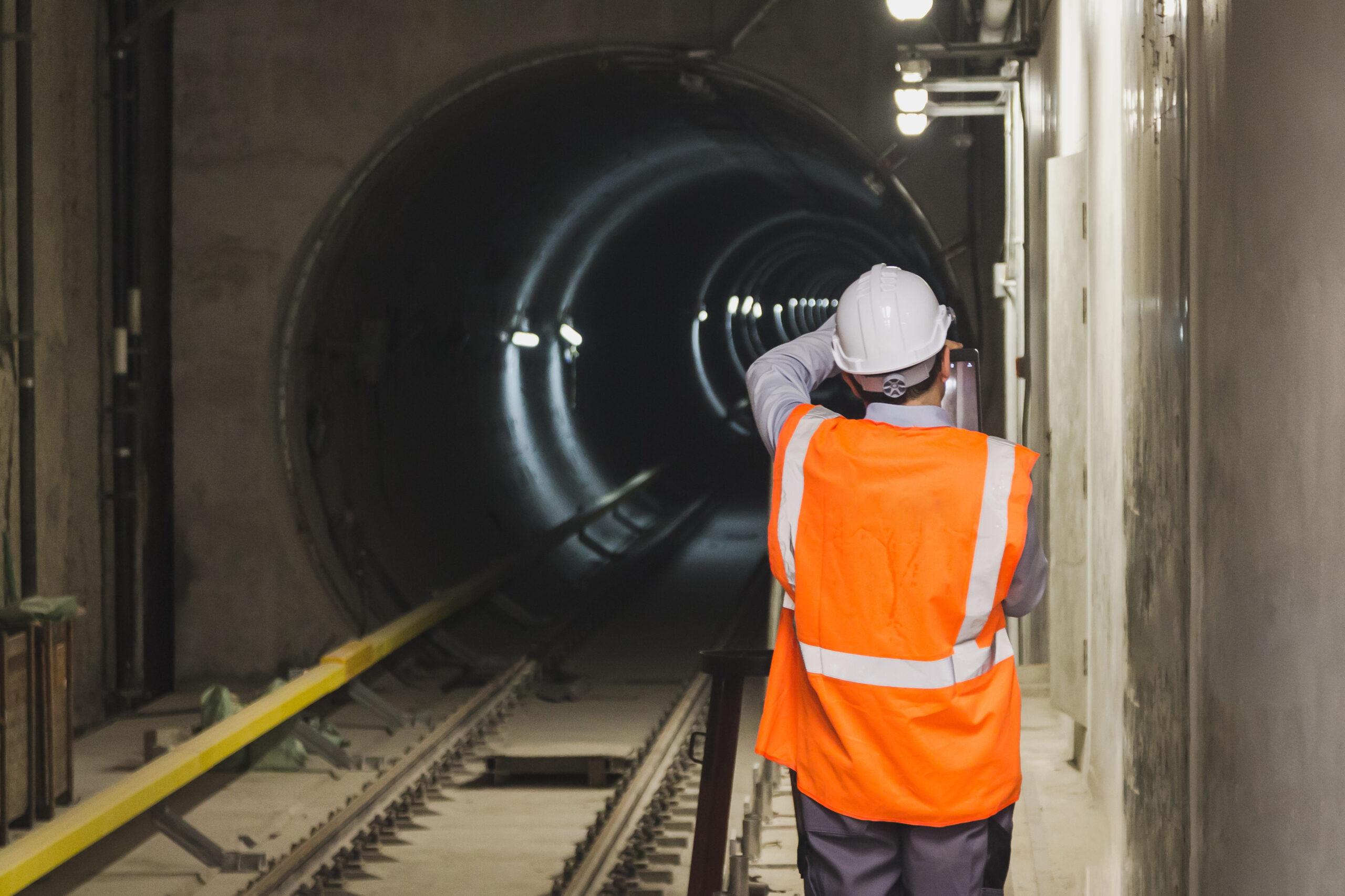 Elios 2 tunnel inspection Medexon
